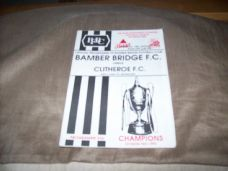 Bamber Bridge v Clitheroe, 1992/93